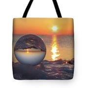 Mirrored Sunrise Tote Bag