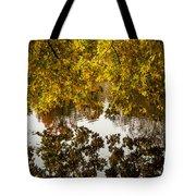 Mirrored Tree Tote Bag