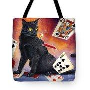 Mischief Kitten Tote Bag