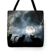 Mischief Times Four Tote Bag