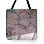 Miscolored Olympic Rings Tote Bag
