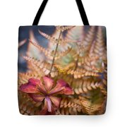 Misplaced Iris Tote Bag