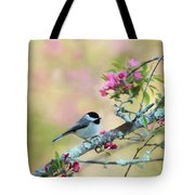 Miss Chickadee Tote Bag