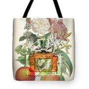 Miss Dior Notes 1 - By Diana Van Tote Bag