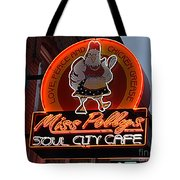 Miss Polly's Soul City Cafe Tote Bag