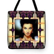 Miss Scarlet And Her Fans Tote Bag