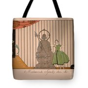 Miss Spinelly At Home Tote Bag