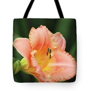 Miss Tinkerbell Daylily Tote Bag