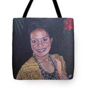 Miss Tropical Tote Bag