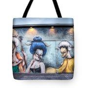 Miss Van Mural Tote Bag
