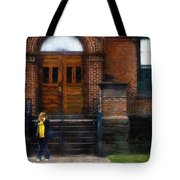 Missed Bus Tote Bag