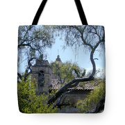 Mission At Carmell Tote Bag