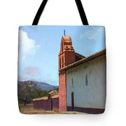 Mission End Wall Tote Bag