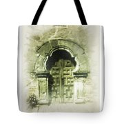 Mission Espada Chapel Door Tote Bag