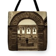 Mission Gate And Bells #2 Tote Bag