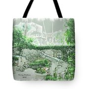 Mission Inn Cannons Tote Bag