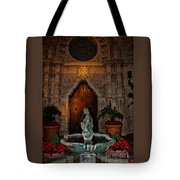 Mission Inn Chapel Fountain Tote Bag