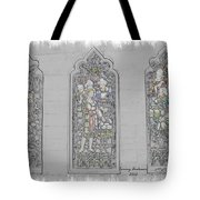 Mission Inn Chapel Stained Glass Tote Bag