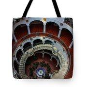 Mission Inn Circular Stairway Tote Bag