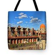 Mission Inn Skyline Tote Bag