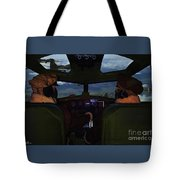 Mission Over Germany - Oil Tote Bag