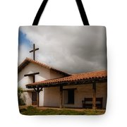 Mission San Francisco De Solano Tote Bag by Mick Burkey