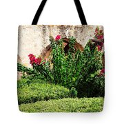 Mission San Jose' Flora Beauty Tote Bag