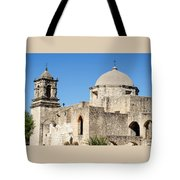 Mission San Jose Towers Tote Bag