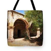 Mission San Juan Capistrano - Quiet Walkway Tote Bag