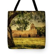 Mission San Juan Church Tote Bag
