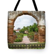 Mission San Luis Rey Carriage Arch Tote Bag