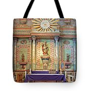 Mission San Miguel Arcangel Altar, San Miguel, California Tote Bag