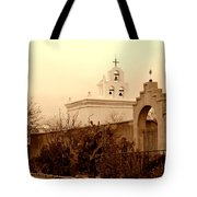 Mission San Xavier Chapel Tote Bag