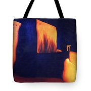 Mission St Francis Assisi At Dusk Tote Bag
