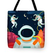 Mission To Mars Tote Bag