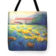 Mission Wildflowers Tote Bag