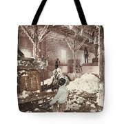 Mississippi Cotton Gin At Dahomey Tote Bag