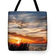 Mississippi Gulf Coast Sunset Tote Bag