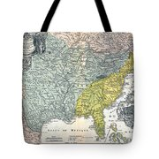 Mississippi Region, 1687 Tote Bag