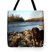 Mississippi River Good Morning Tote Bag