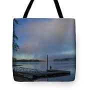 Mississippi River In Wisconsin Tote Bag