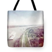 Mississippi River Tote Bag