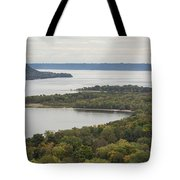 Mississippi River Lake Pepin 7 Tote Bag
