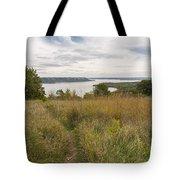 Mississippi River Lake Pepin 9 Tote Bag