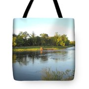 Mississippi River Lovely Dawn Light Tote Bag