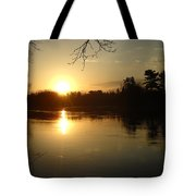 Mississippi River Perfect Sunrise Tote Bag