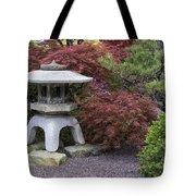 Missouri Botanical Garden A Japanese Snow Viewing Lantern Spring Time Dsc01783 Tote Bag