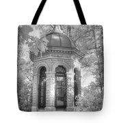 Missouri Botanical Garden Henry Shaw Crypt Infrared Black And White Tote Bag