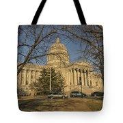 Missouri Capital Building Jefferson City Dsc00653 Tote Bag
