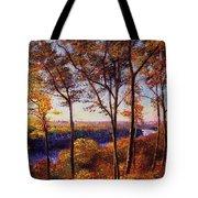 Missouri River In Fall Tote Bag